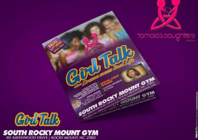 GLC - Girl Talk Mockup